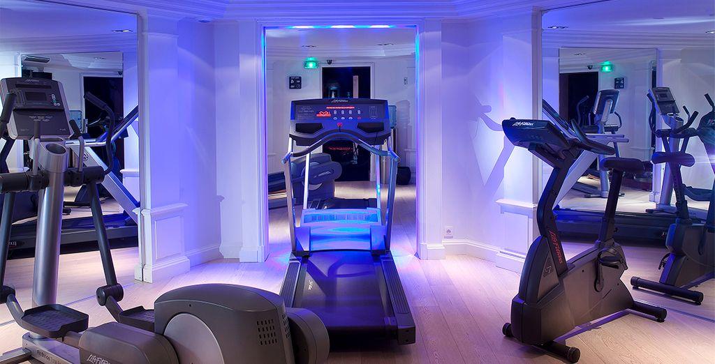 Ou de la salle de fitness pour garder la forme.