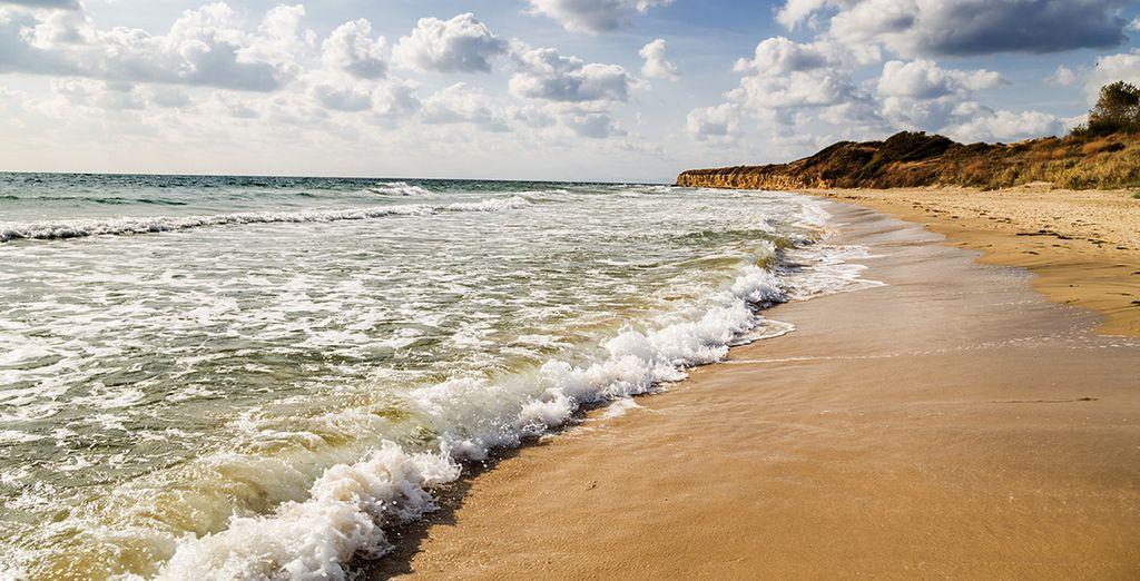 Photographie de la côte est de la Bulgarie et ses plages de sable fin