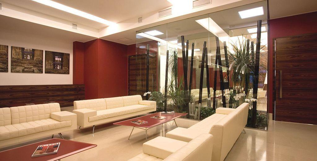Un hôtel sophistiqué au design local