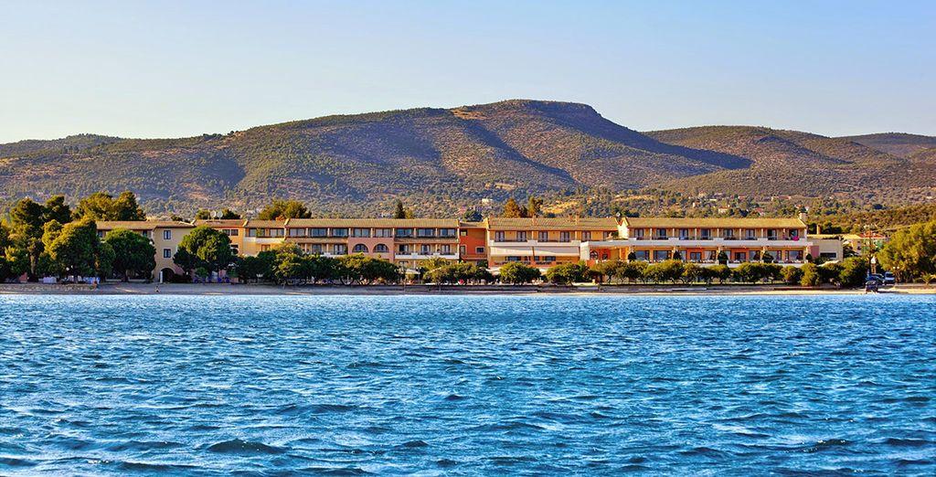 Et face à la mer Égée