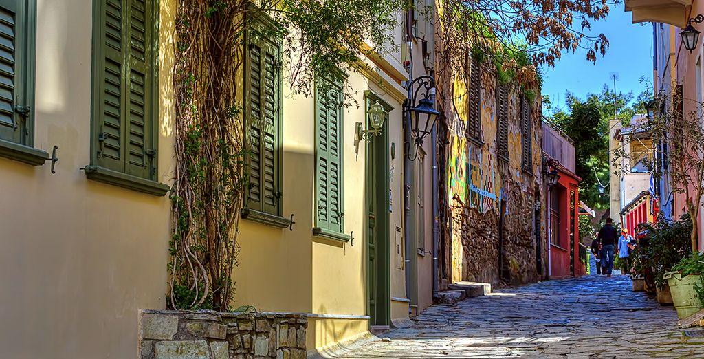 Et ses rues colorées