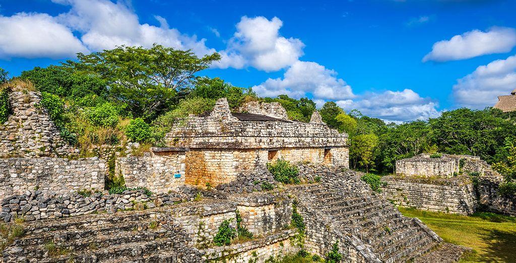 Et de vestiges mayas incroyables