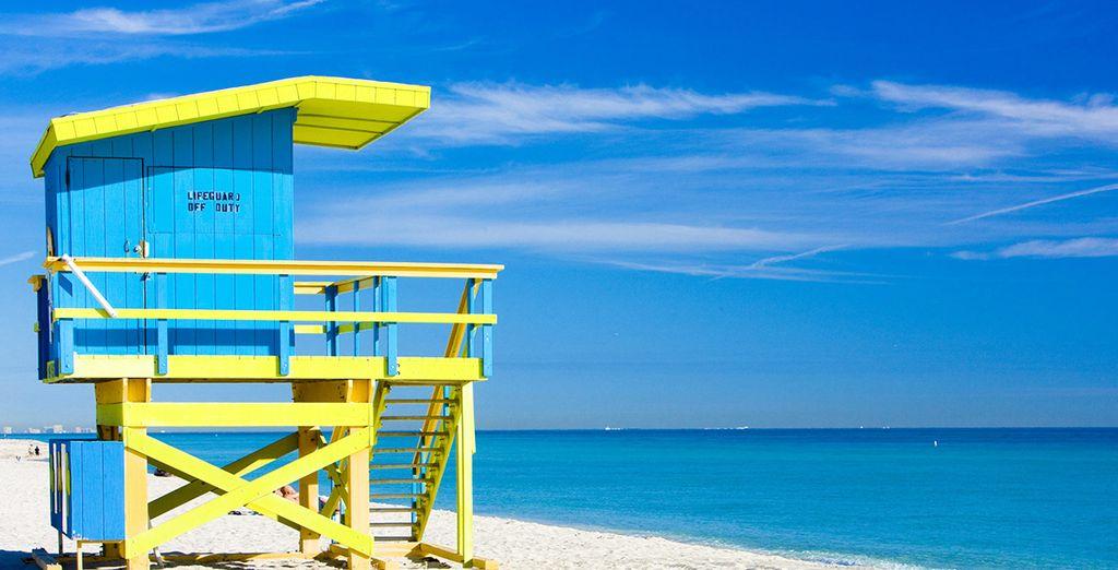 Niché aux portes de la célèbre plage de South Beach
