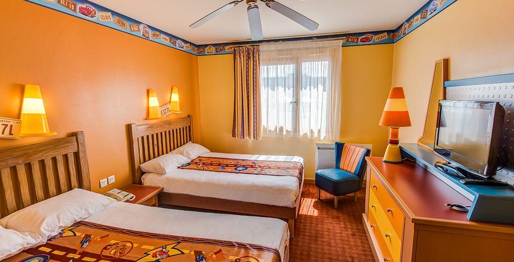 Où une confortable chambre Standard ou Rio Grande vous attend