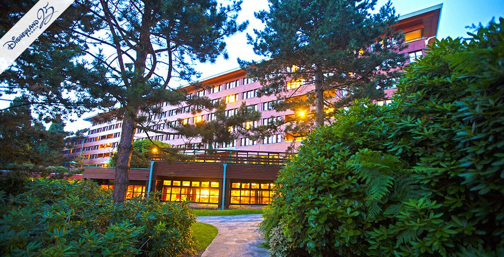 Bienvenue au Disney's Sequoia Lodge® - Disney's Sequoia Lodge® 3* Disneyland Paris