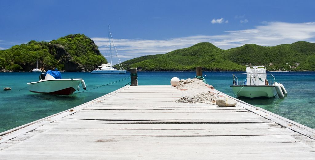 Alors direction la Guadeloupe, Marie-Galante, Les Saintes... 3 îles sublimes