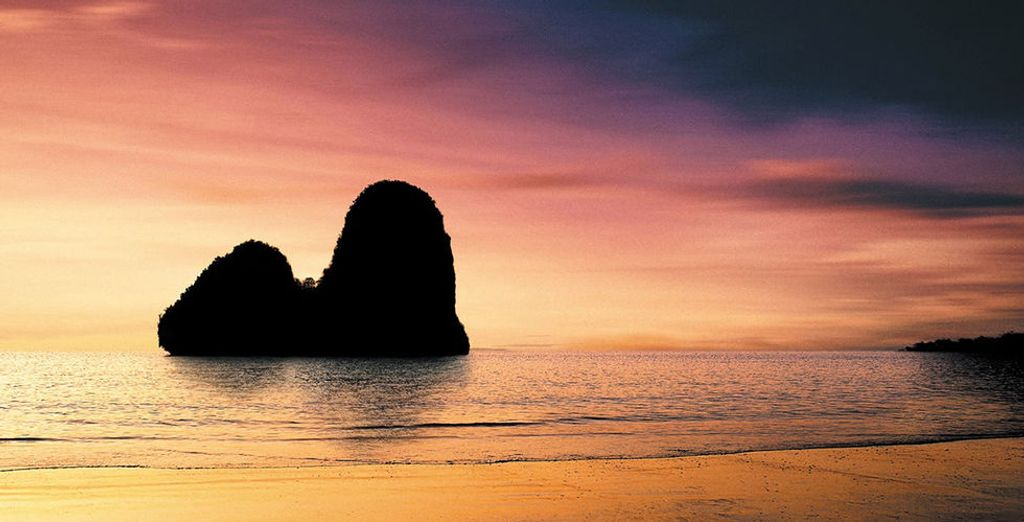 Et appréciez les couleurs chatoyantes de la Thaïlande