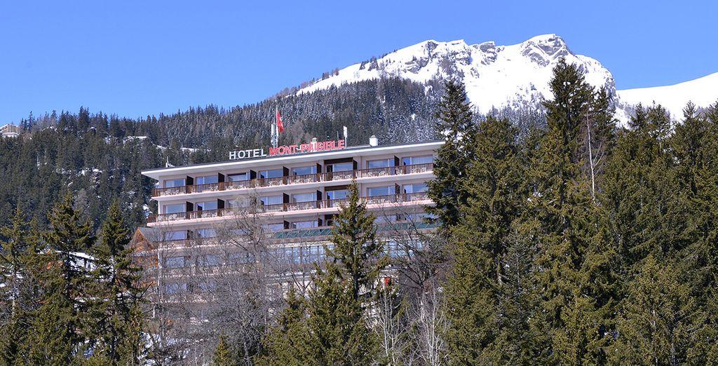 Vous prendrez place au sein de l'Hôtel Le Mont Paisible