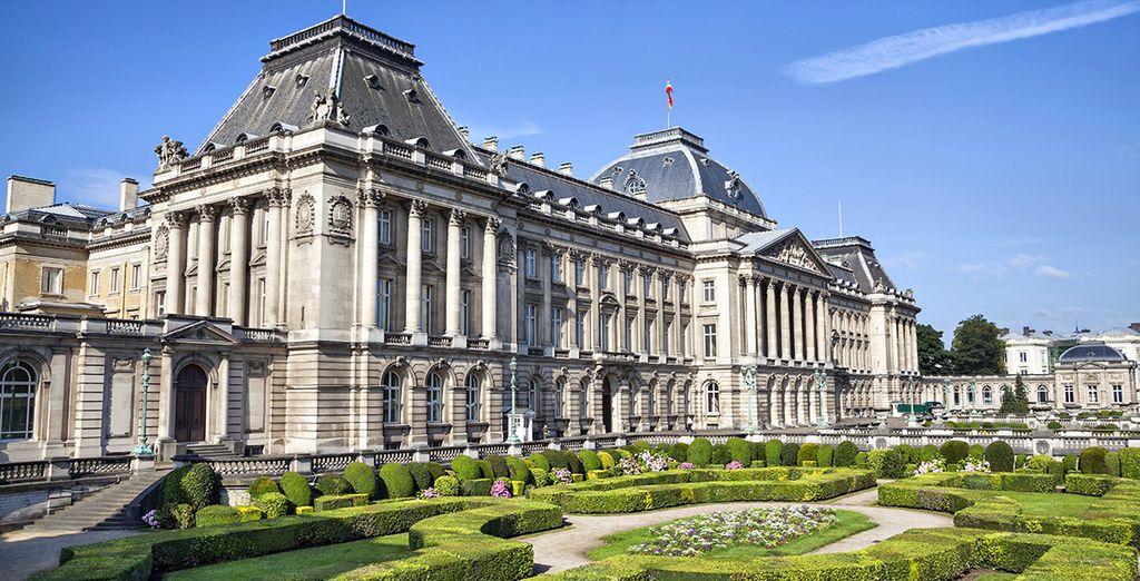 Partez découvrir la belle Bruxelles...