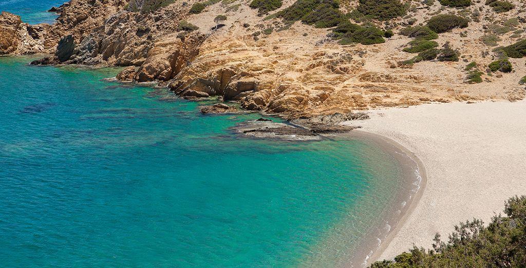 Et de plages de sable doré ? - Hôtel Hersonissos Maris 4* Hersonissos