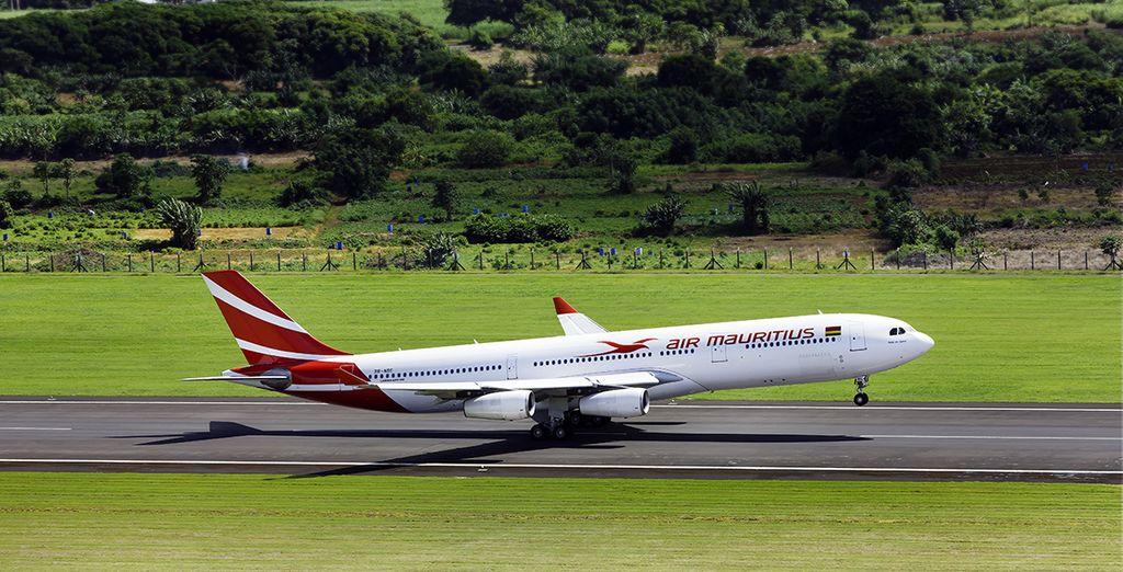 Offrez-vous le luxe ultime, un vol direct avec Air Mauritius en classe économique