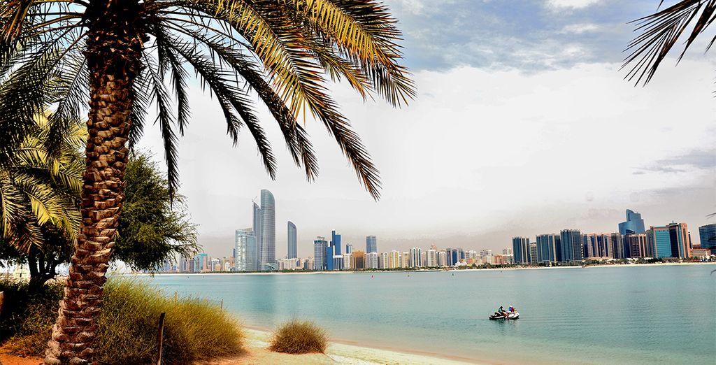 Bon séjour à Abu Dhabi...