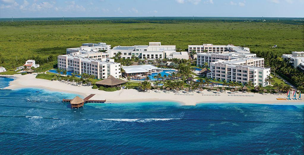 Appréciez la situation idyllique de l'hôtel Secrets Silversands - Secrets Silversands Riviera Cancun 5* Cancun
