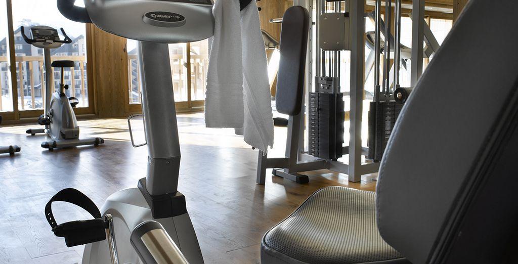 Faites un tour à l'espace fitness