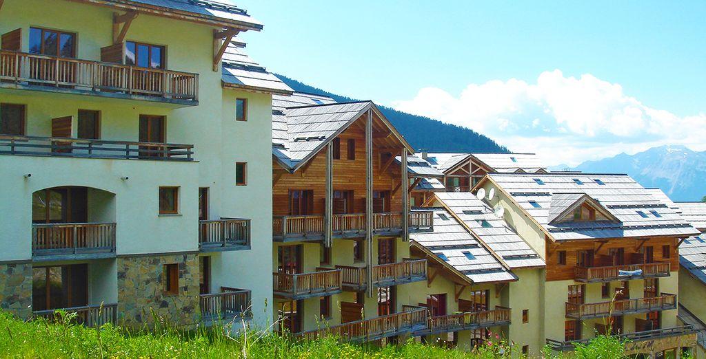 La résidence les Terrasses du Soleil vous acceuille - Résidence Les terrasses du Soleil d'Or Les Orres