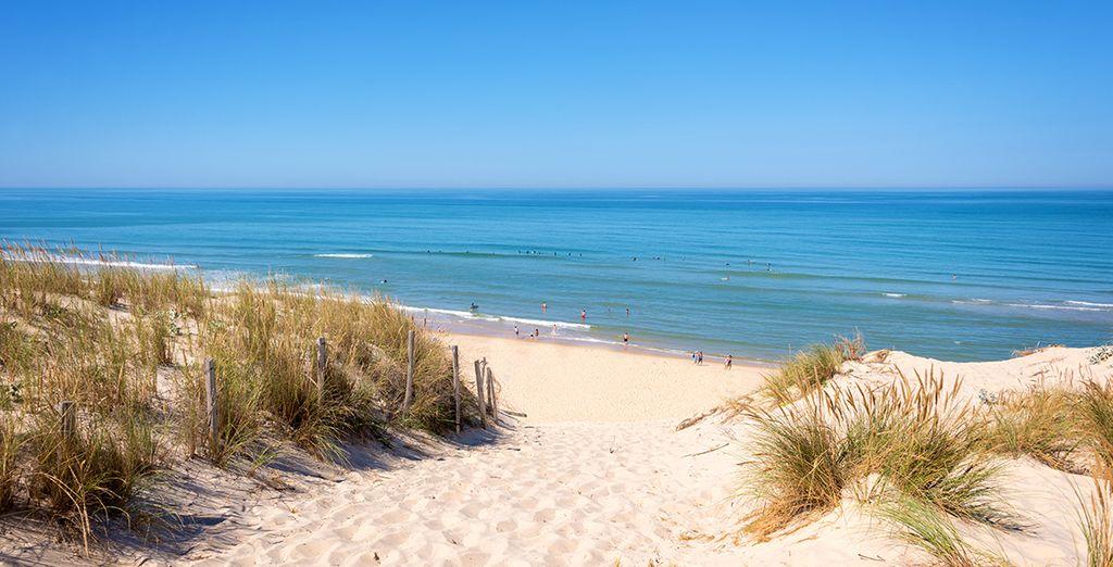 Évadez-vous, à deux pas des belles et longues plages de sable fin de Lacanau...