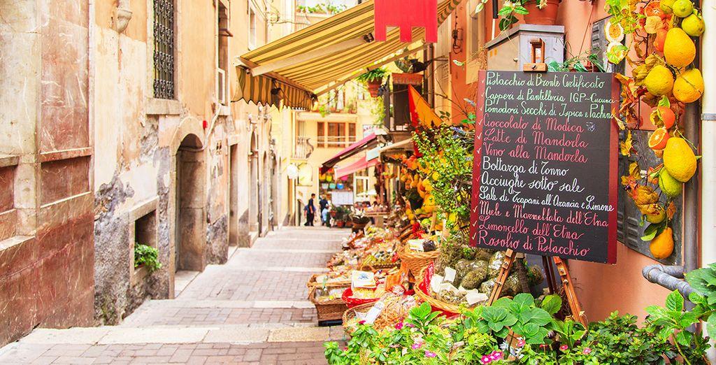 Des ruelles qui sentent bon les parfums italiens...