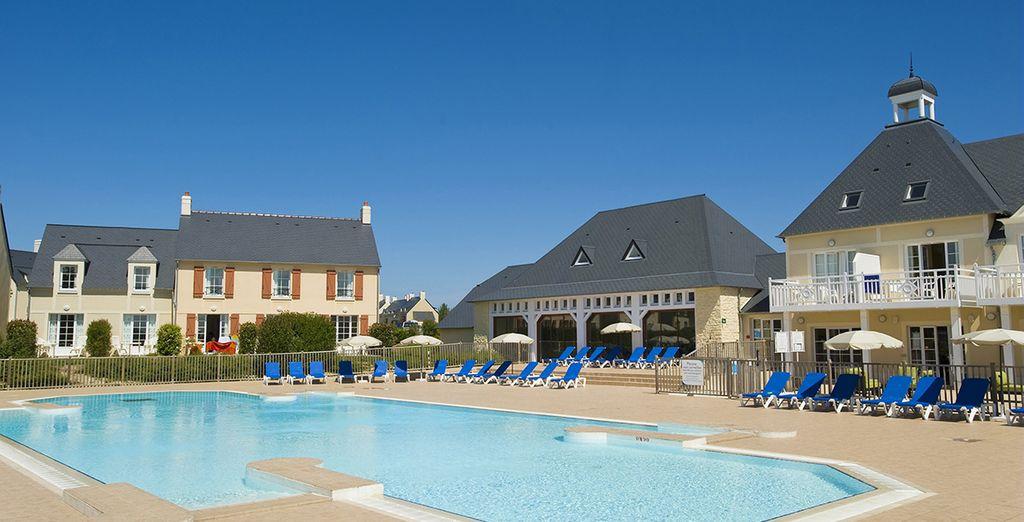Venez vous ressourcer - Résidence Pierre & Vacances Le Green Beach Port-en-Bessin Huppain