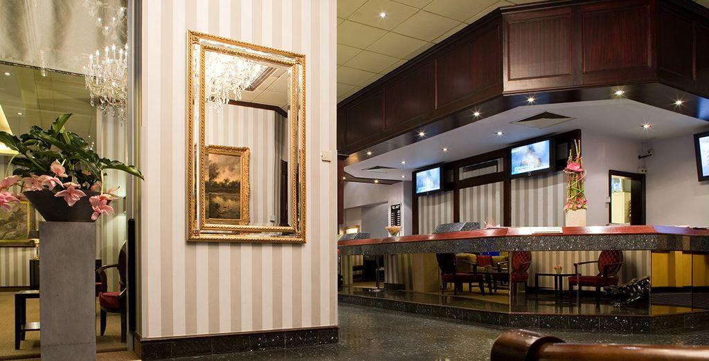 L'hôtel Thon Bristol Stéphanie 4* vous ouvre ses portes