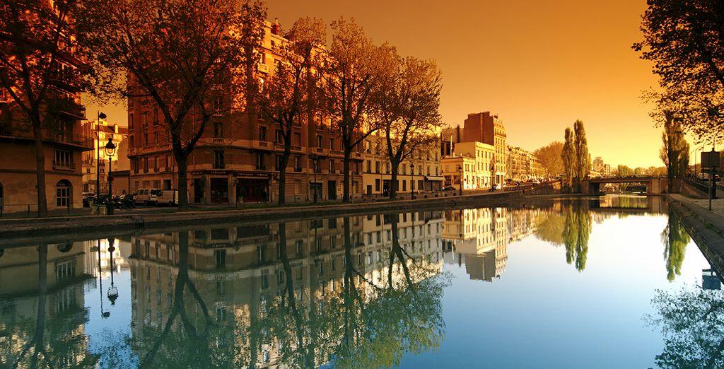 Jusqu'au Canal Saint Martin...