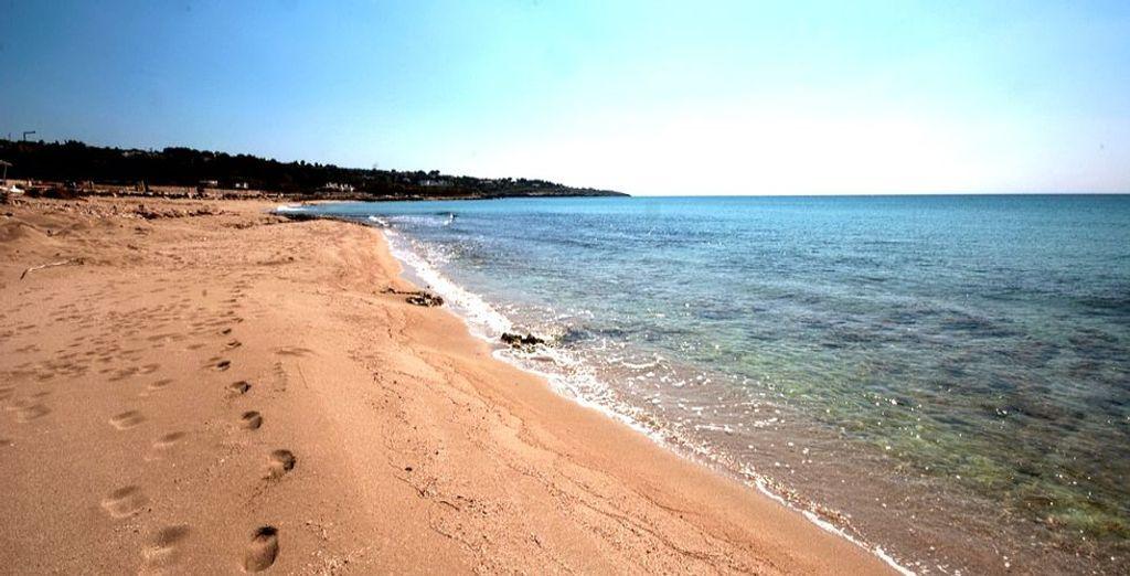 Profitez des plages de sable...