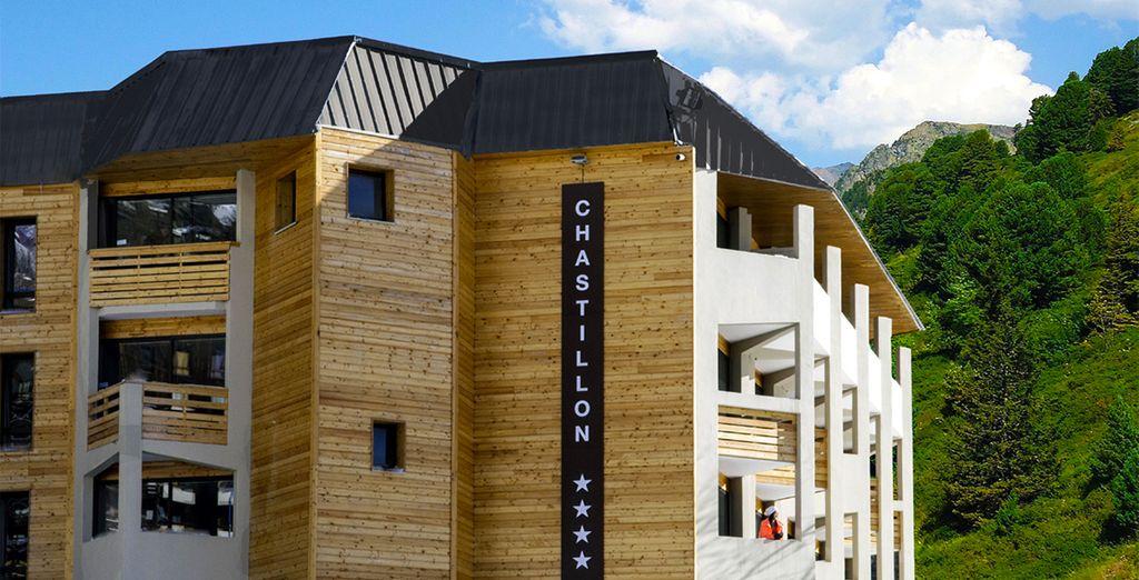 La résidence New Chastillon vous accueille - Résidence Le New Chastillon Isola 2000
