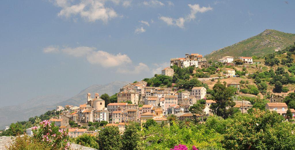 Bienvenue à Oletta, charmant village de Corse...