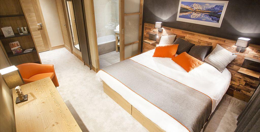 Découvrez votre chambre Supérieure spacieuse