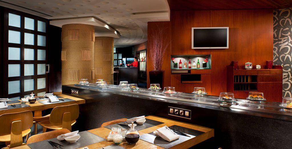 ...Le Sushi bar