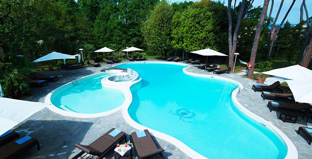 Envie de vous détendre en écoutant le bruit des cigales ?  - Grand hôtel & La Pace 5* Montecatini Terme