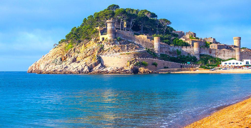 Partez à la découverte de l'ancien village de pêcheurs de Tossa de Mar