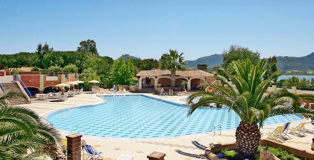 Et admirez cette magnifique piscine qui fera votre plus grand bonheur !