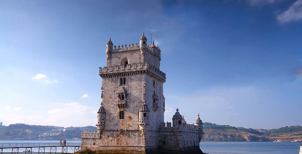 Et visitez la ville de Lisbonne...