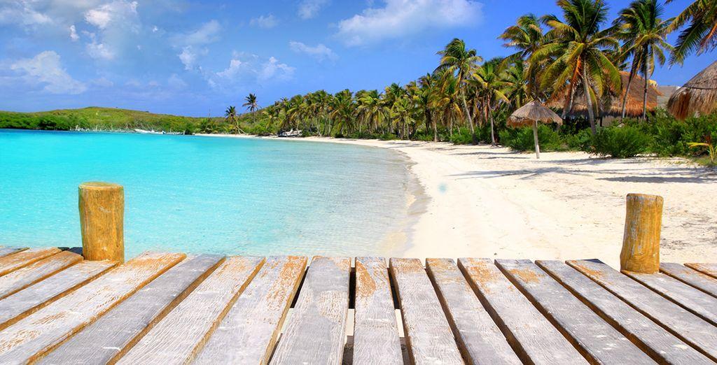 Puis envolez-vous pour les plages mythiques de Cancun