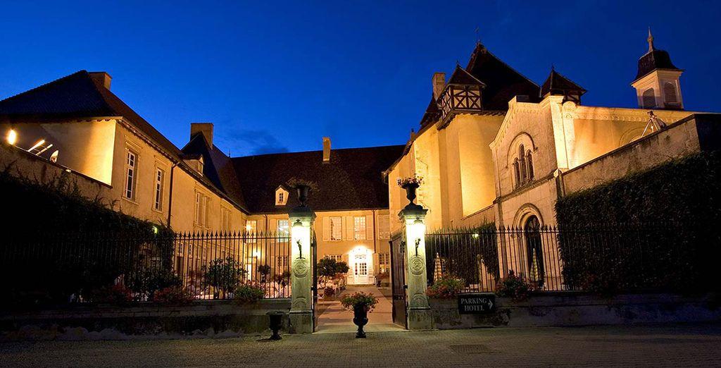 Le Château de Pizay, en plein Beaujolais !