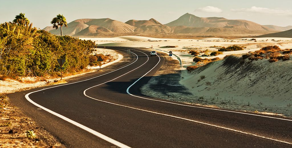 Prenez la route de Fuerteventura...