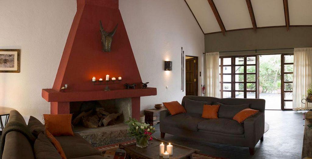 Durant votre safari, vous séjournerez dans de superbes lodges
