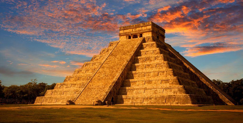 Puis vous partirez à la découverte du Yucatan