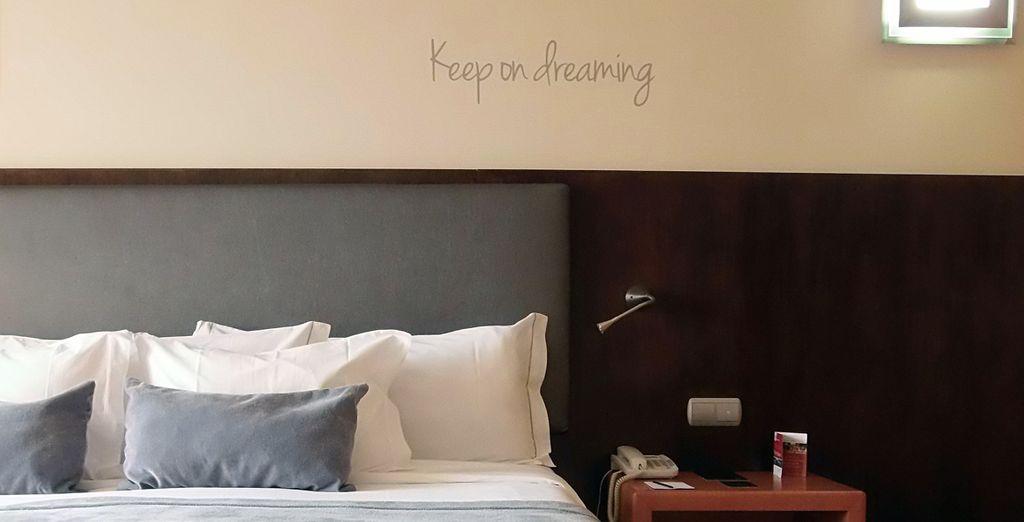 Pour un séjour sous le signe du confort...