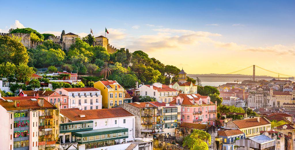 Envie d'une escapade culturelle sous le soleil ?  - Hôtel Santa Justa Lisboa 4* Lisbonne
