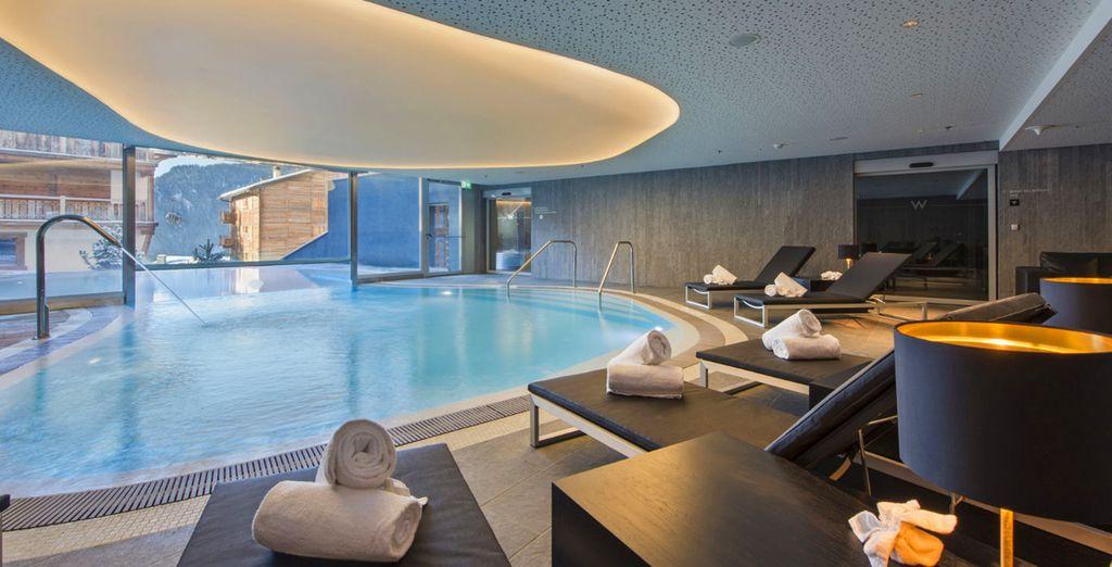 Les piscines intérieures...