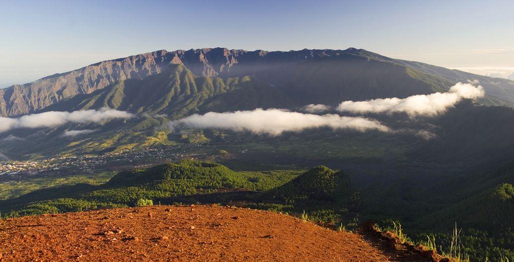 De paysages volcaniques...