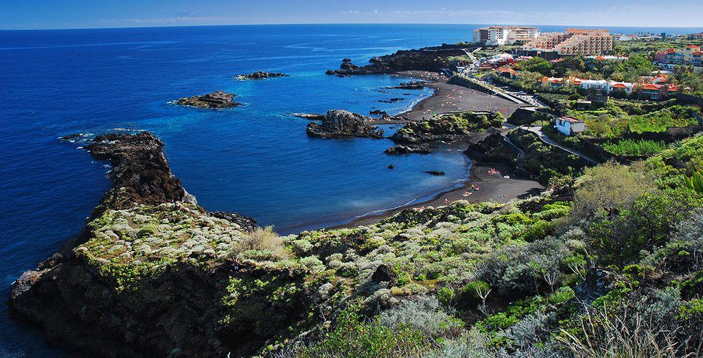 Parcourez l'île et découvrez des décors incroyables...