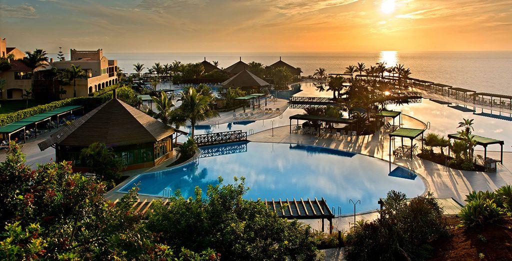 Envie de farniente sur une île au panorama paradisiaque ? - Hôtel O club la palma princess 4* Santa Cruz De La Palma