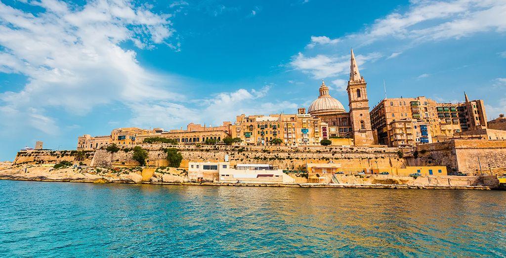 Bon séjour à Malte !