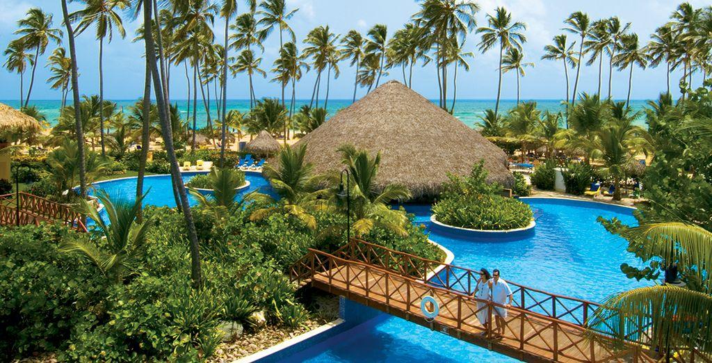 Où vous profiterez de l'une des plus grandes piscines des Caraïbes