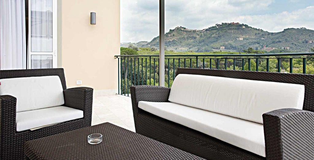 Installez-vous au coeur de Montecatini Terme au Grand Hotel Croce di Malta