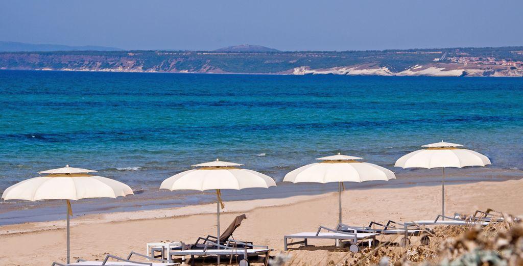 Ou vous détendre sur la plage de longue de 6 kilomètres
