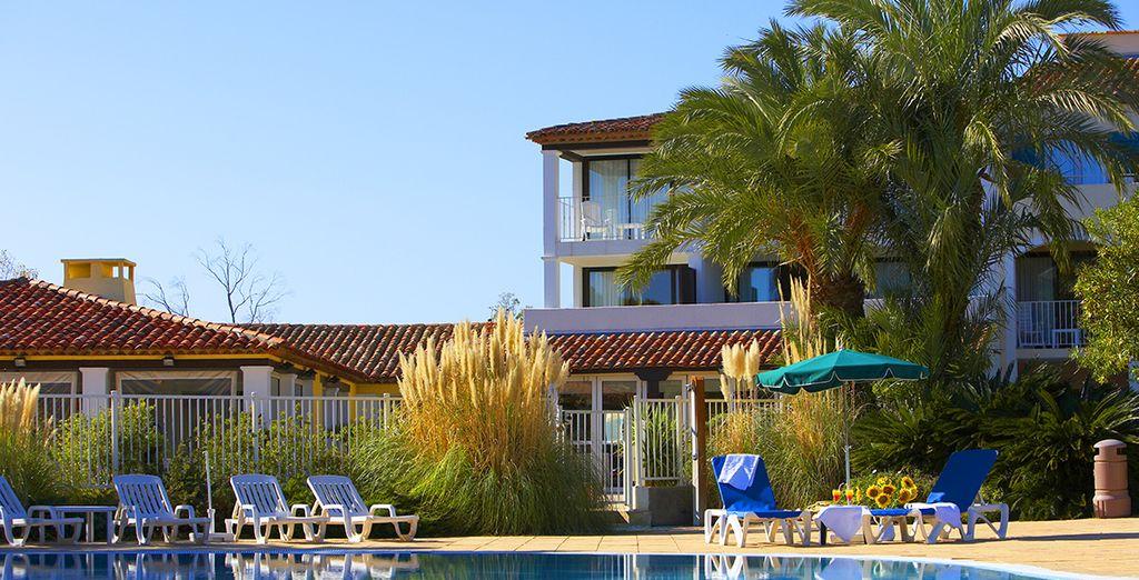 Dans un cadre merveilleux - Hôtel Du Soleil Saint-Tropez / Port Grimaud Saint Tropez