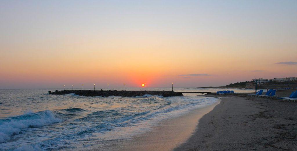 & délassez-vous sur la plage...